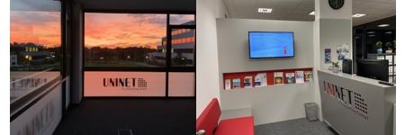UNINET im neuen BC1 Büro